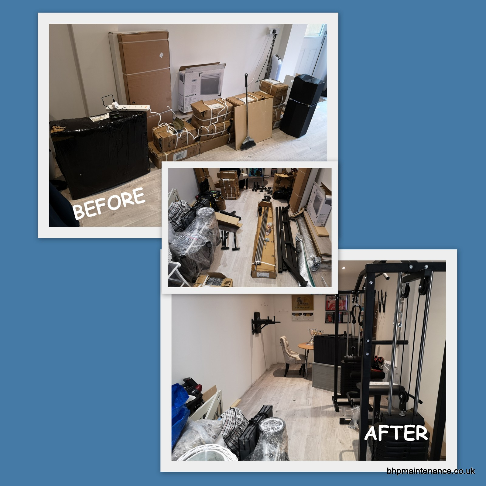 GYM EQUIPMENT ASSEMBLY