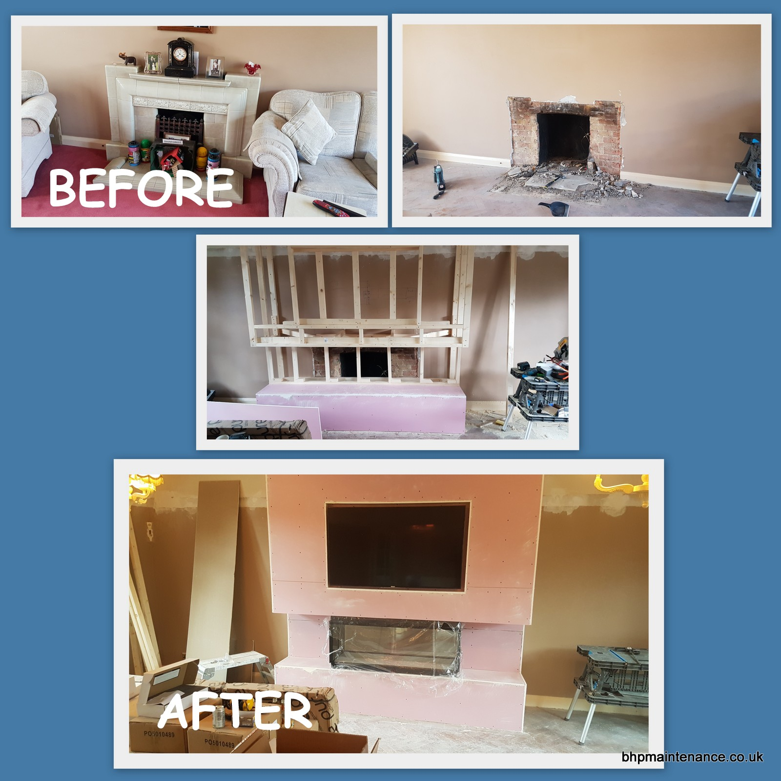 FIRE AND TV UNIT BUILIDNG