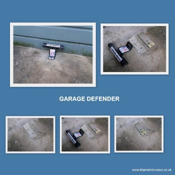 Garage defender fitting